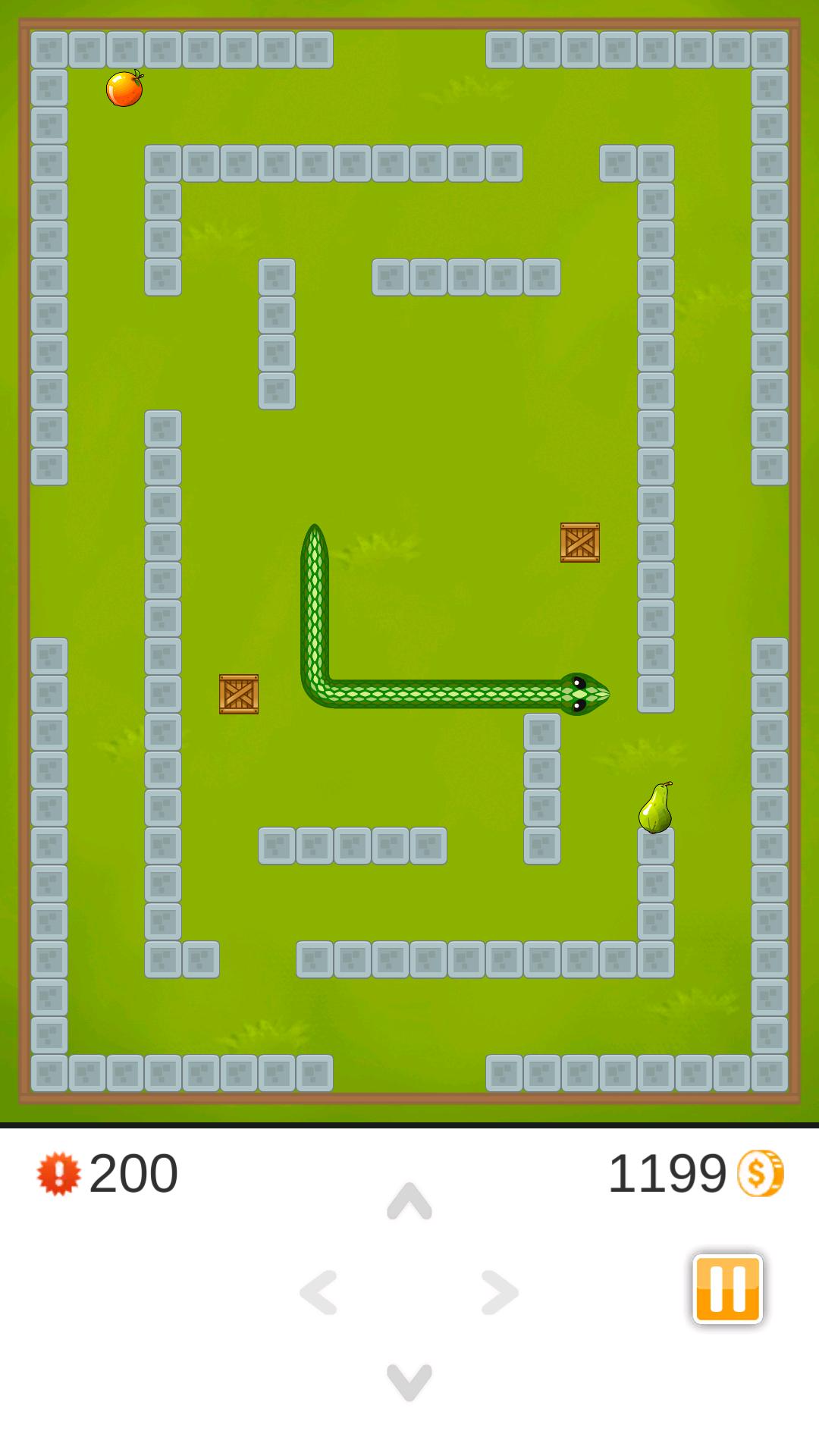 5 Snake Game Three Kings Screen 2