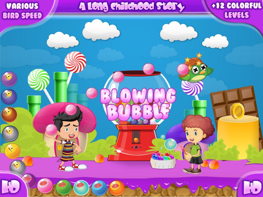 Blowing Bubble HD screen shot