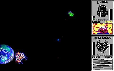 Star Control gameplay