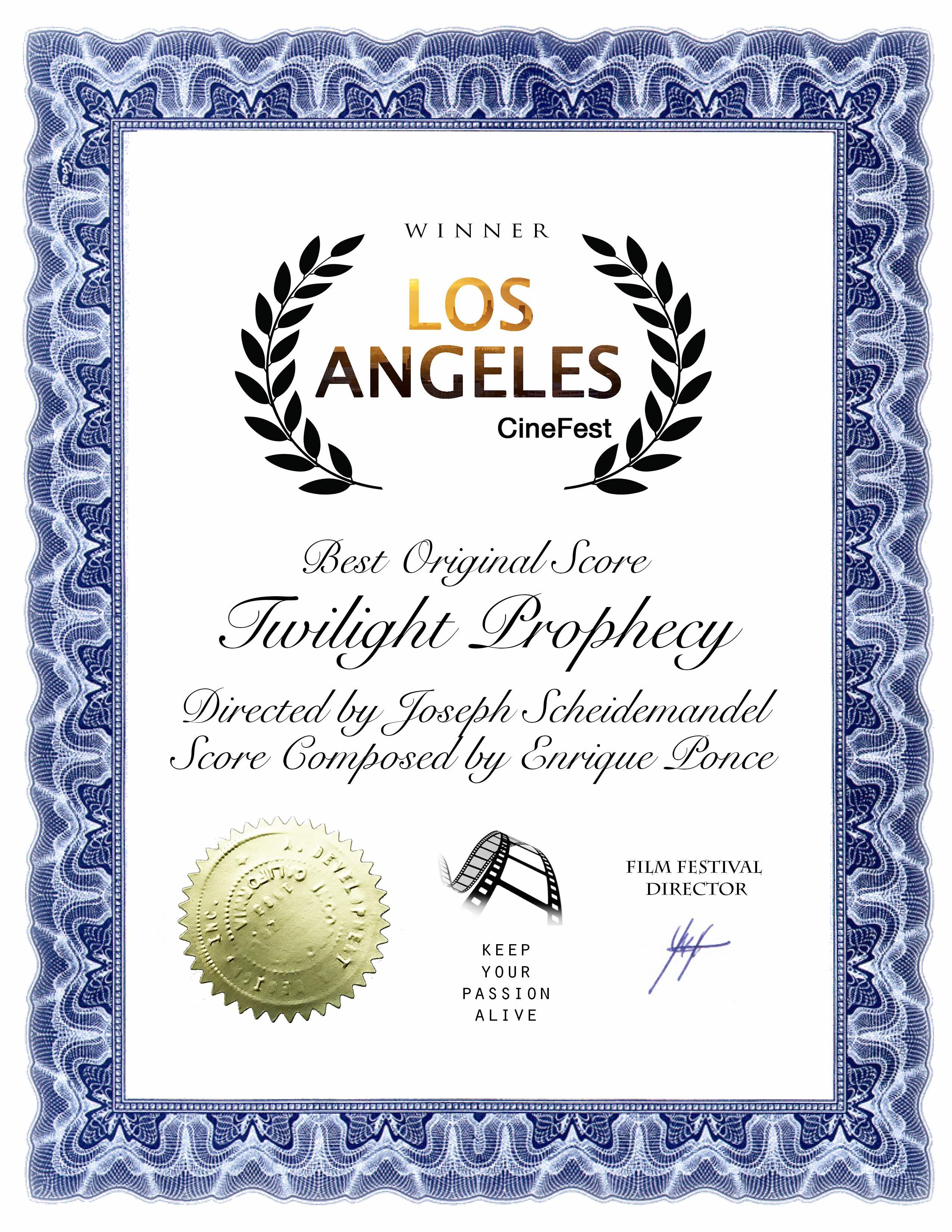 Best Original Score Twilight Pro