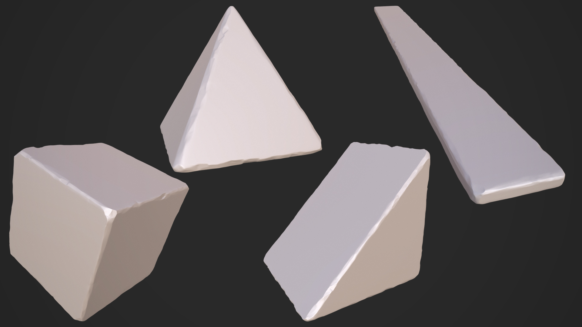 shapes sculpts