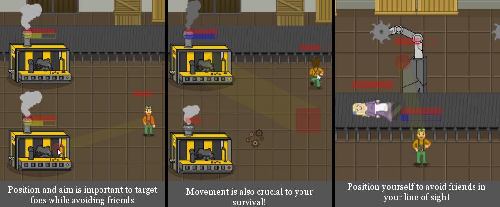 Main battle features