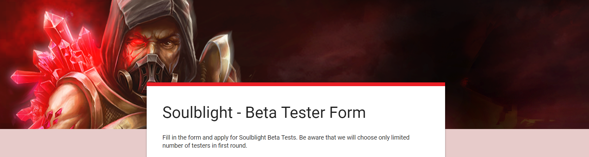 Soulblight Beta Form