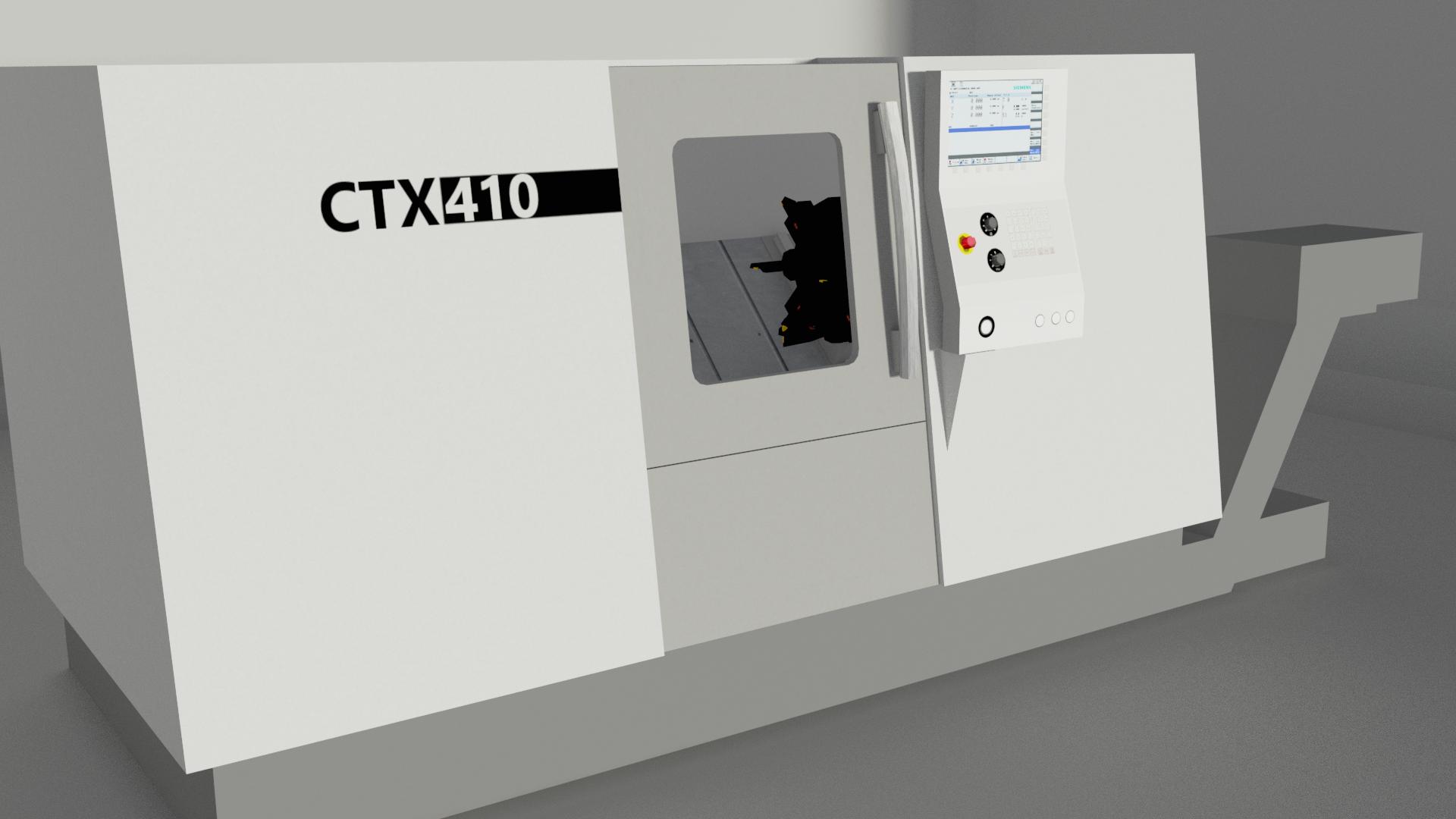 CTX410 fin