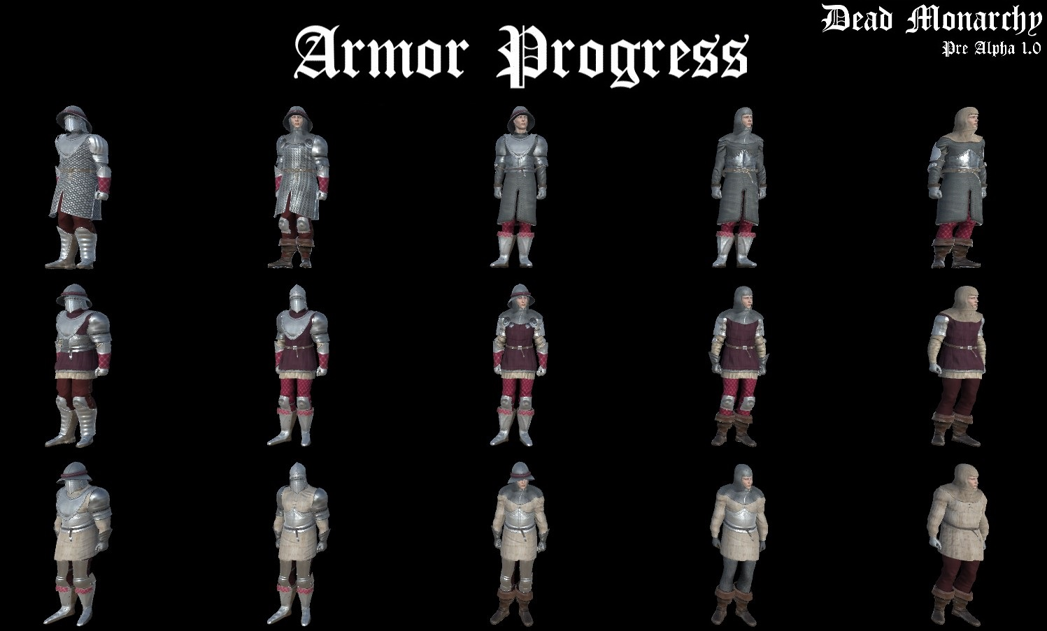 Armor Progression Set 1.0