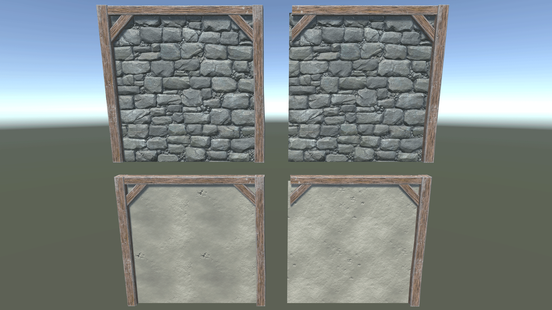 scribe Props Walls