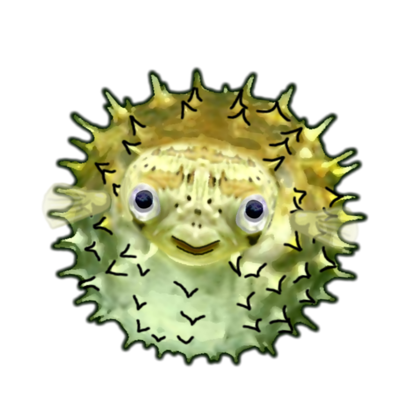 Blowfish blowfish BlowingUp 018