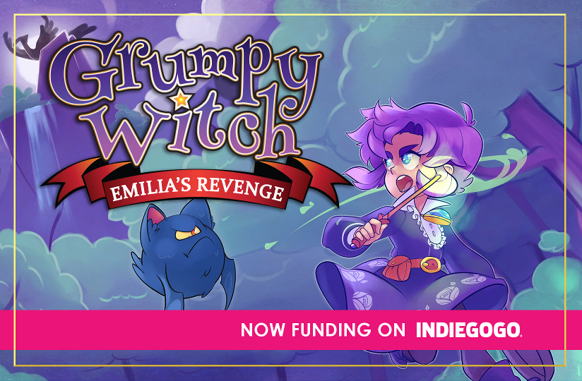 Grumpy Witch: Now Funding on Indieogogo
