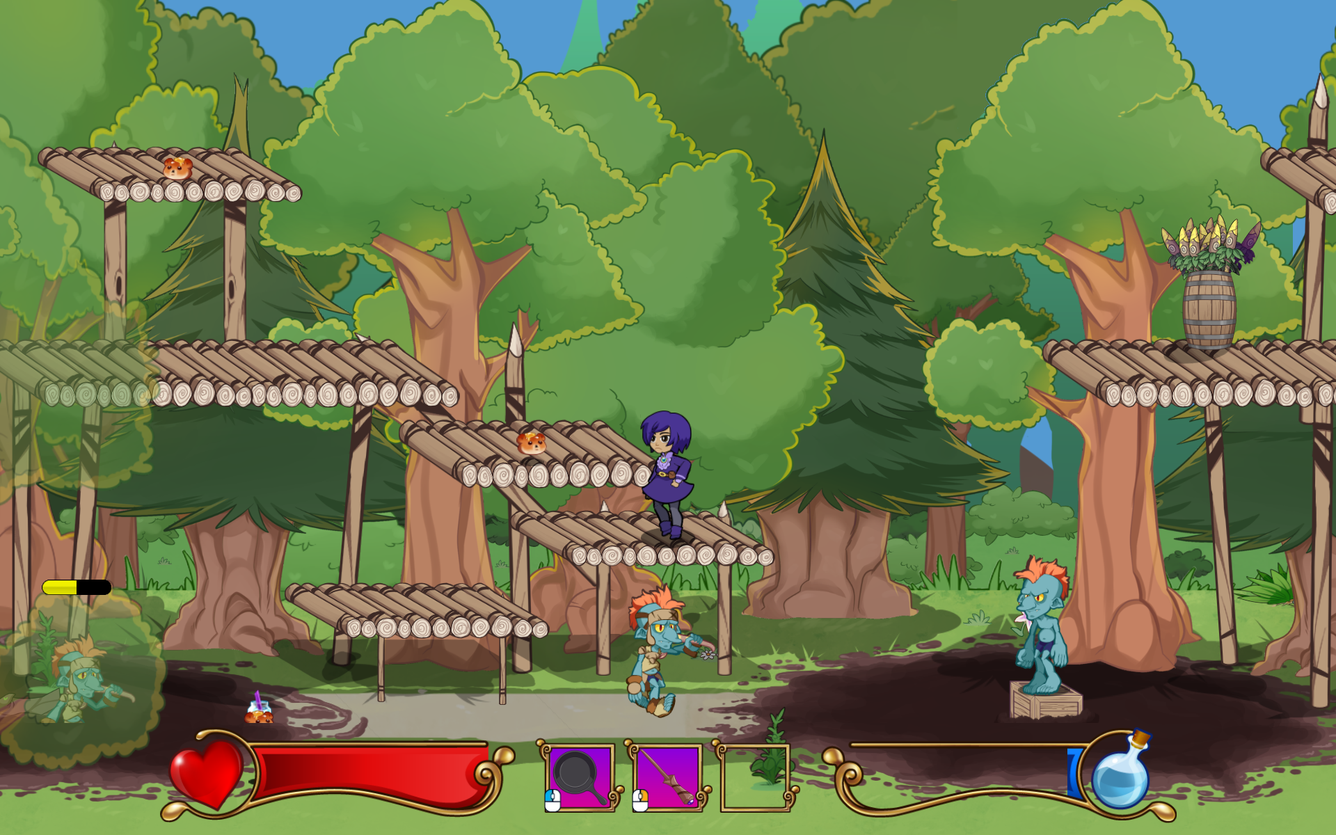 Grumpy Witch Screenshot