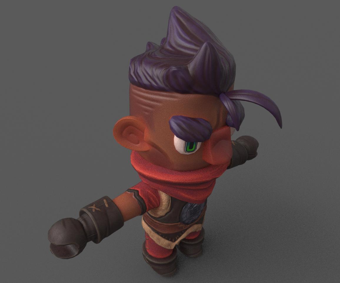 Bandit Character
