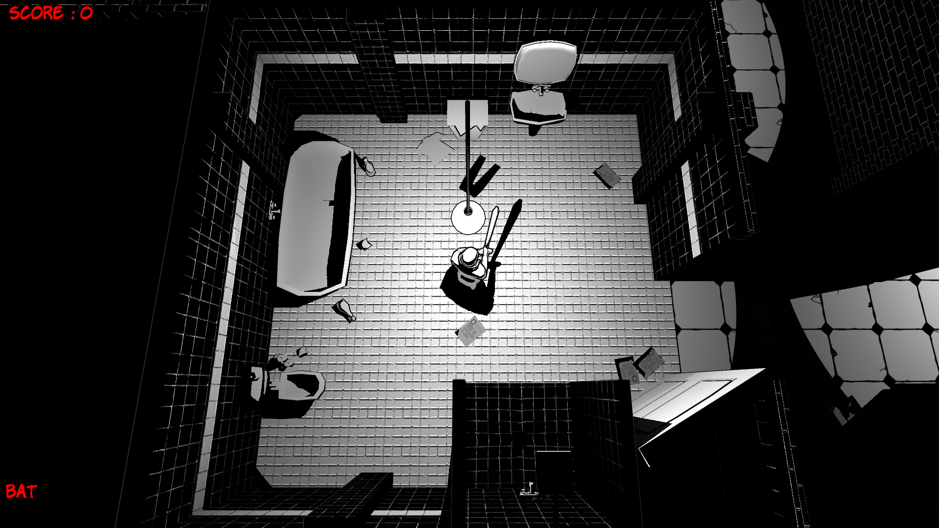 Black Night City - Bathroom