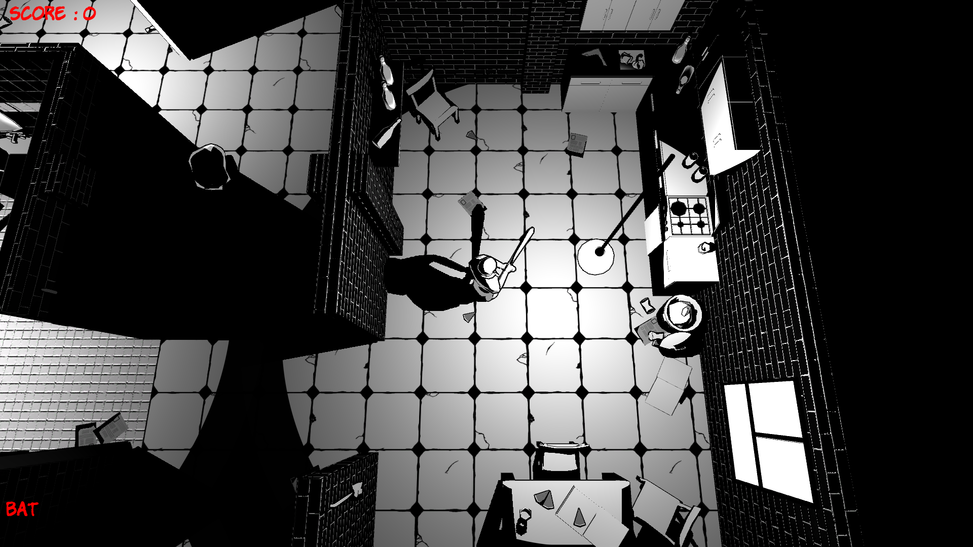 Black Night City - Kitchen
