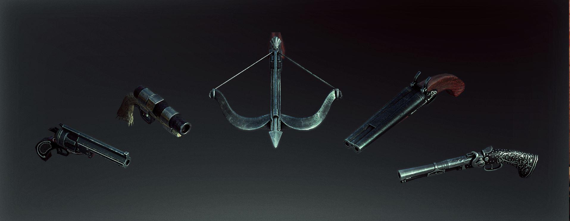 new long range weapons