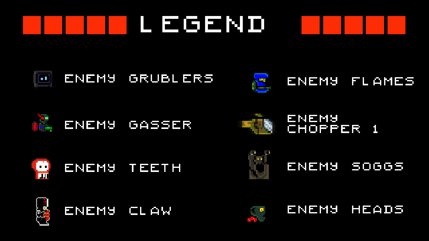Legend 2 explains some of the baddies