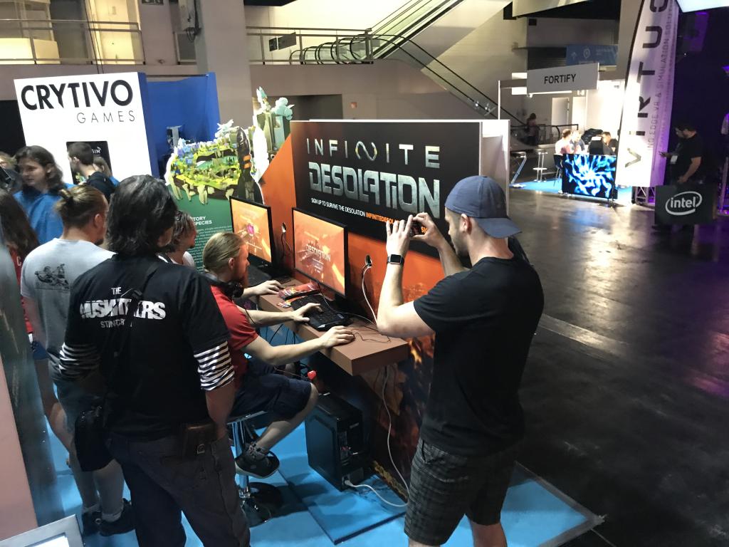 Infinite Desolation at Gamescom 2017