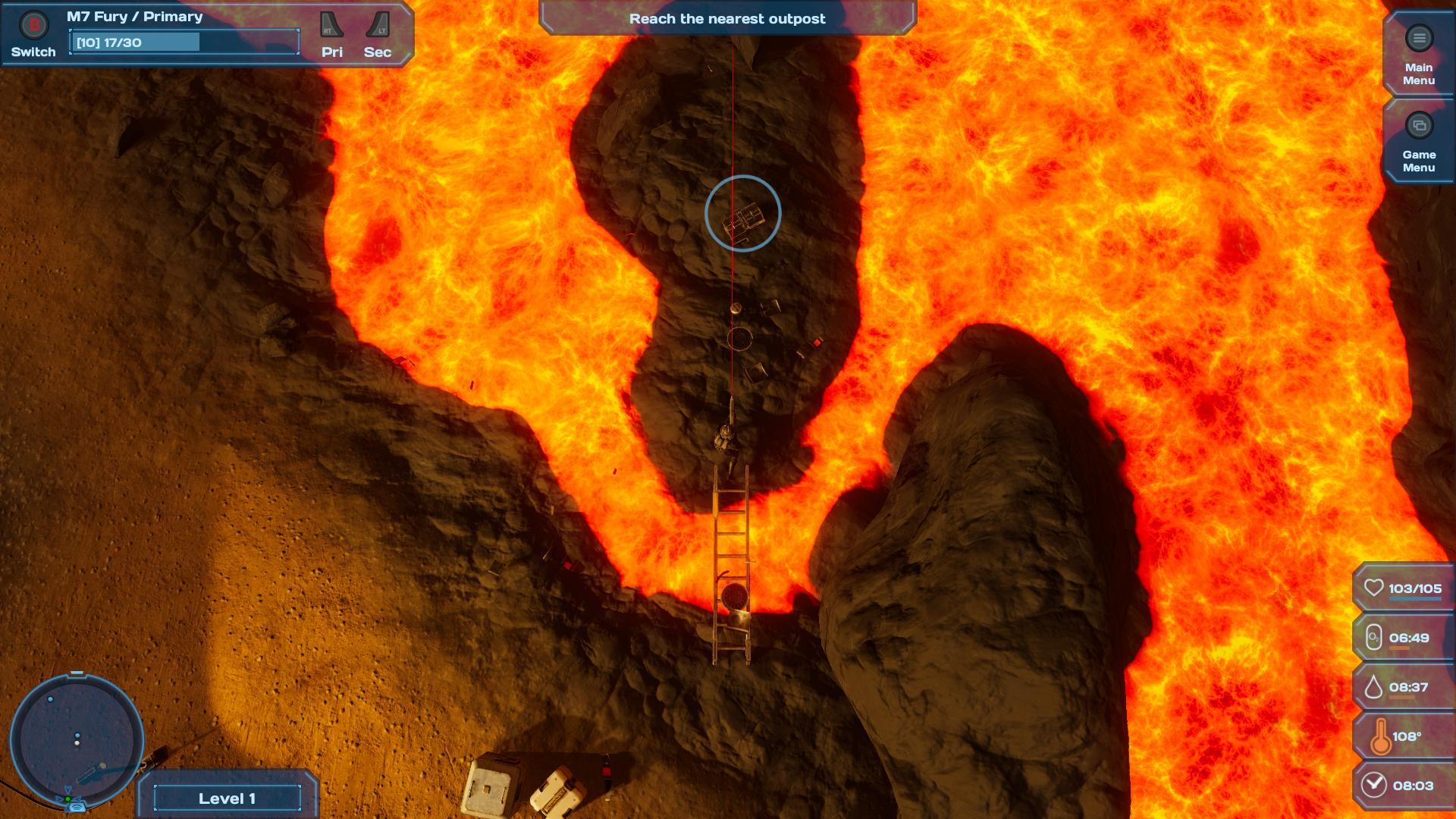 Infinite Desolation Screenshot 1