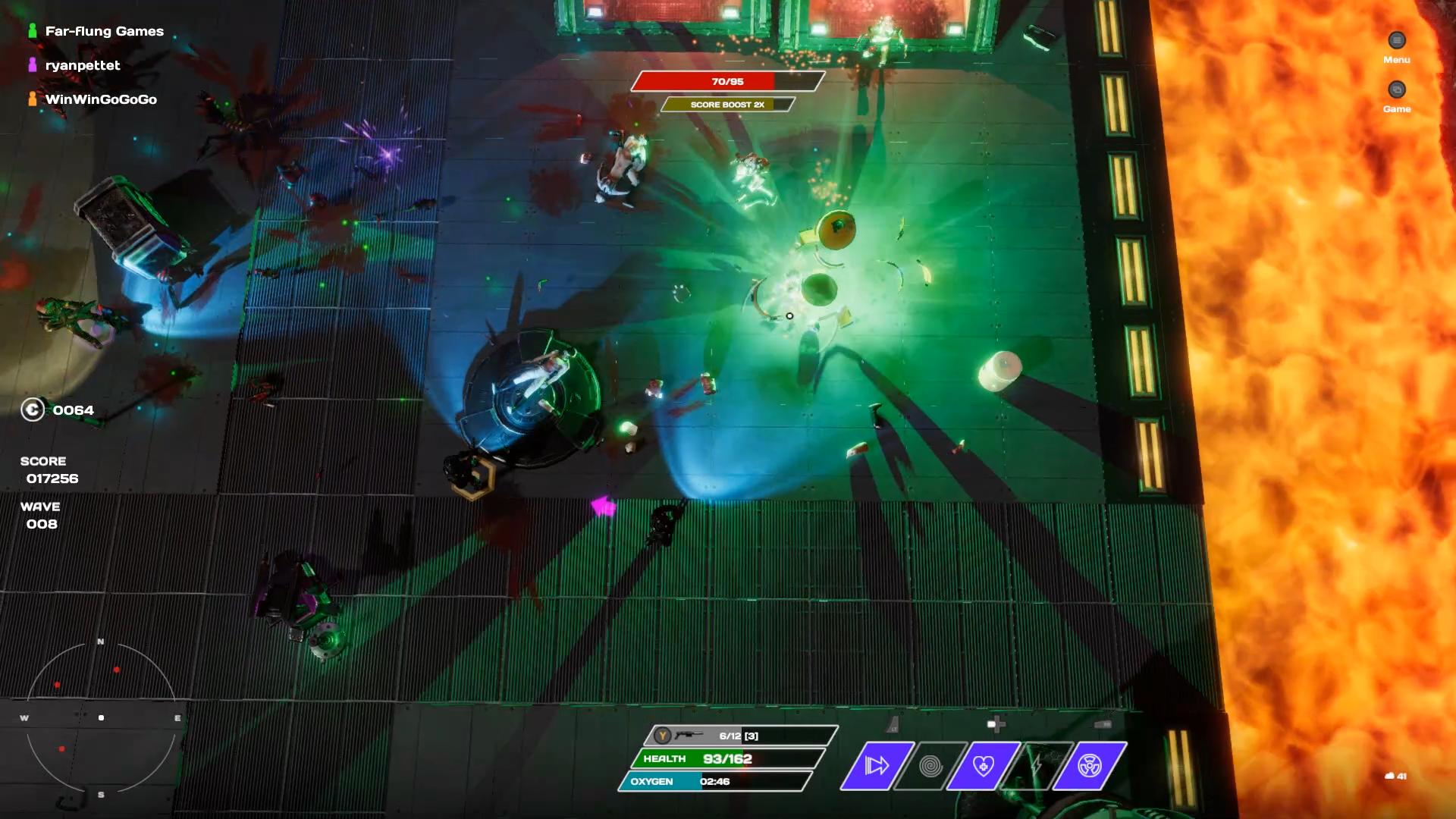 Rogue Shift Co-op Gameplay Screenshot