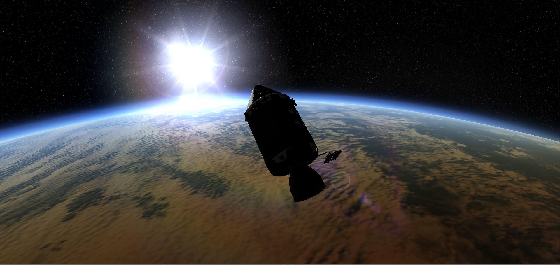 Space Simulator Steam Apollo sunrise