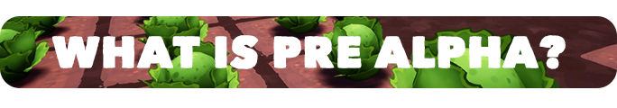 what is pre alpha