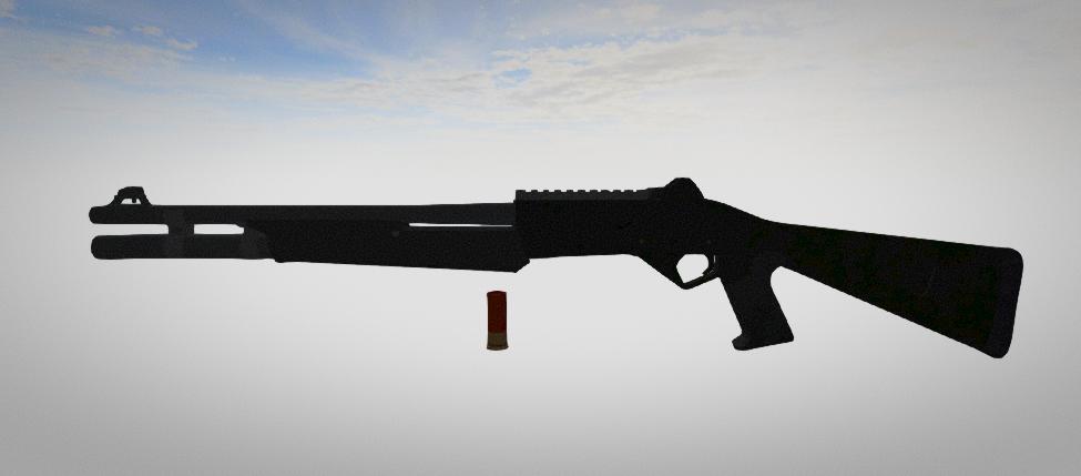New weapon - shotgun