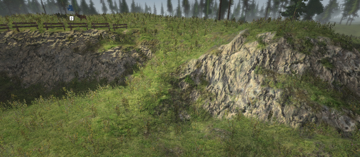 Terrain textures paint automatically by a script
