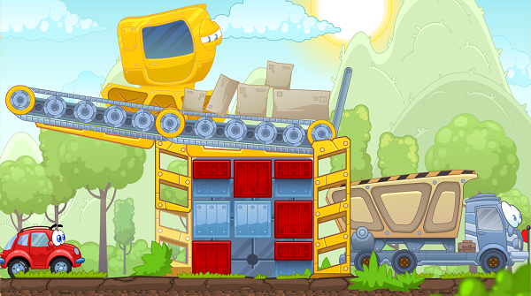 Level in Wheely game