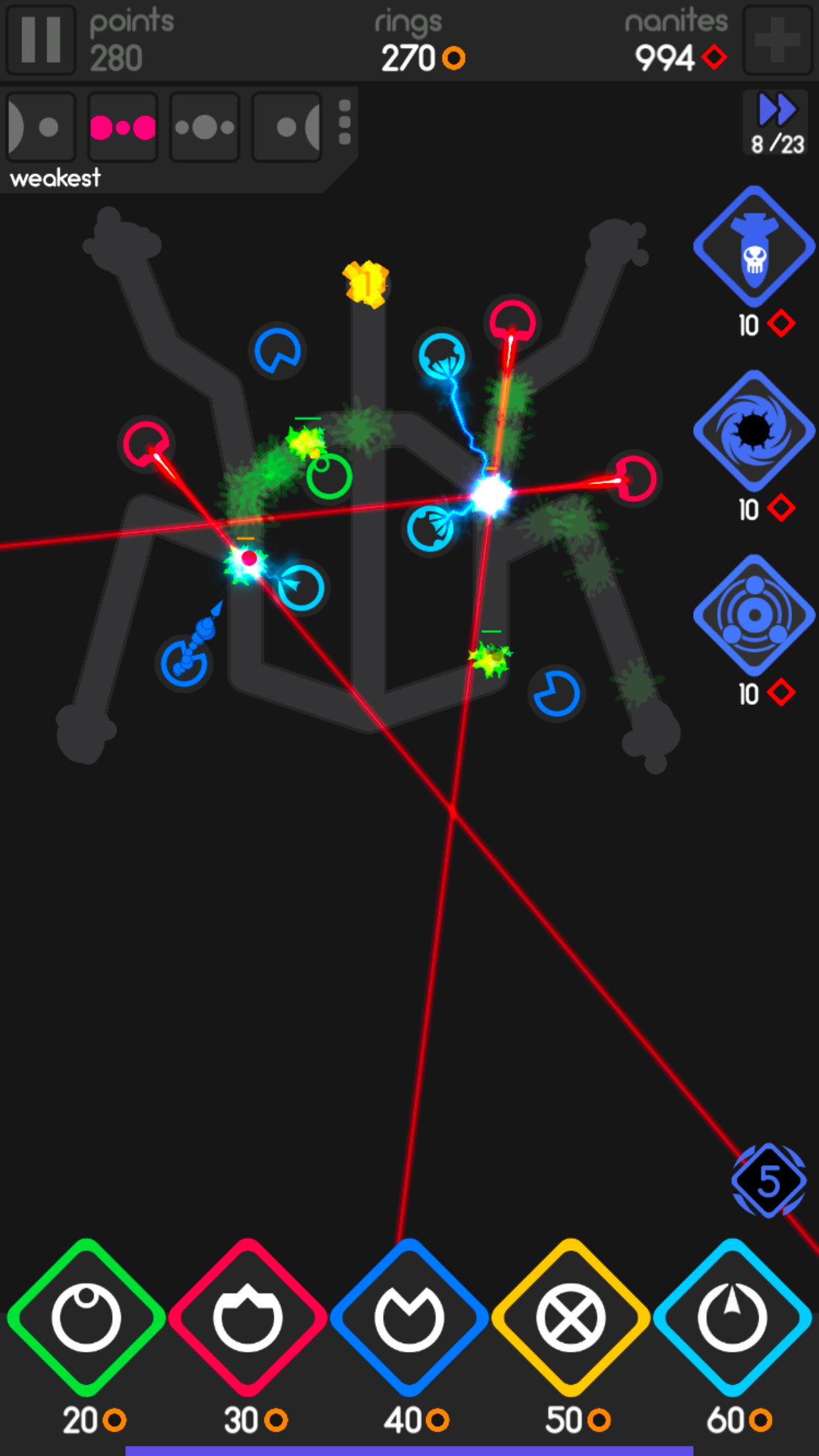 Color Defense App Store iPhone6 4