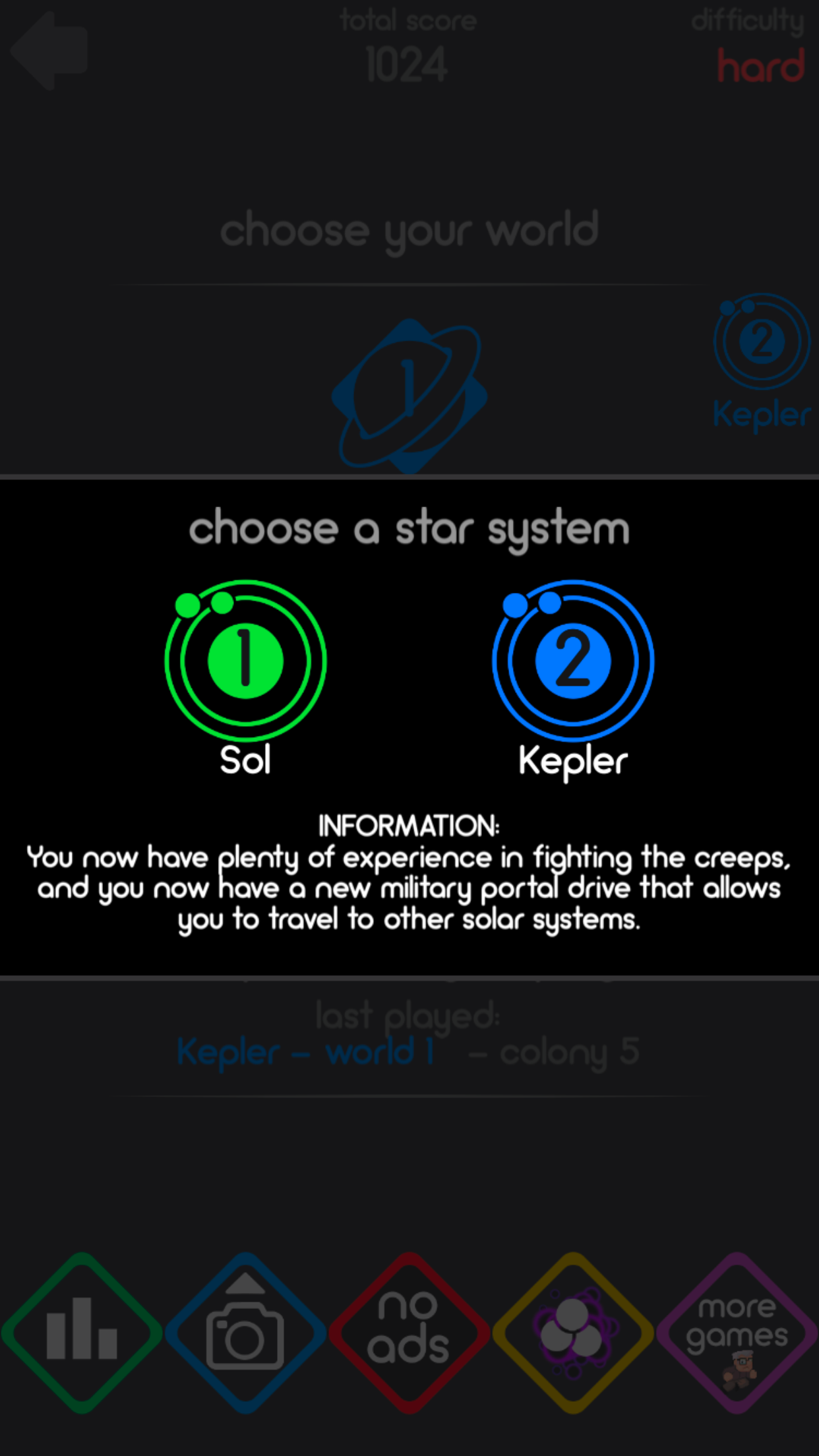 Color Defense App Store iPhone6