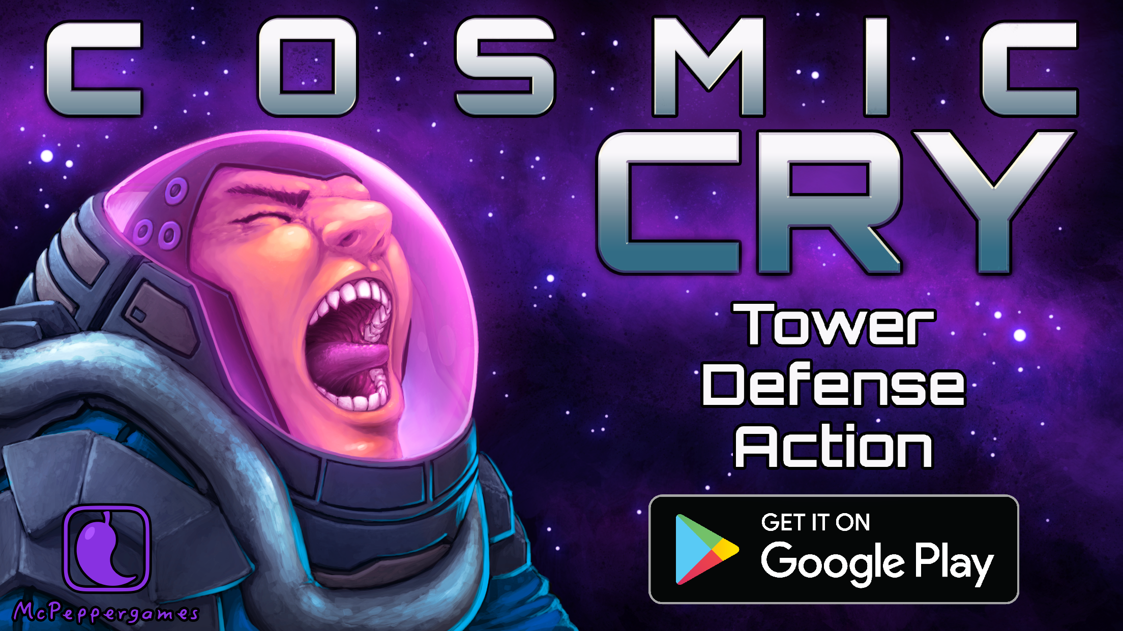 Cosmic Cry Tower Defense Science 1