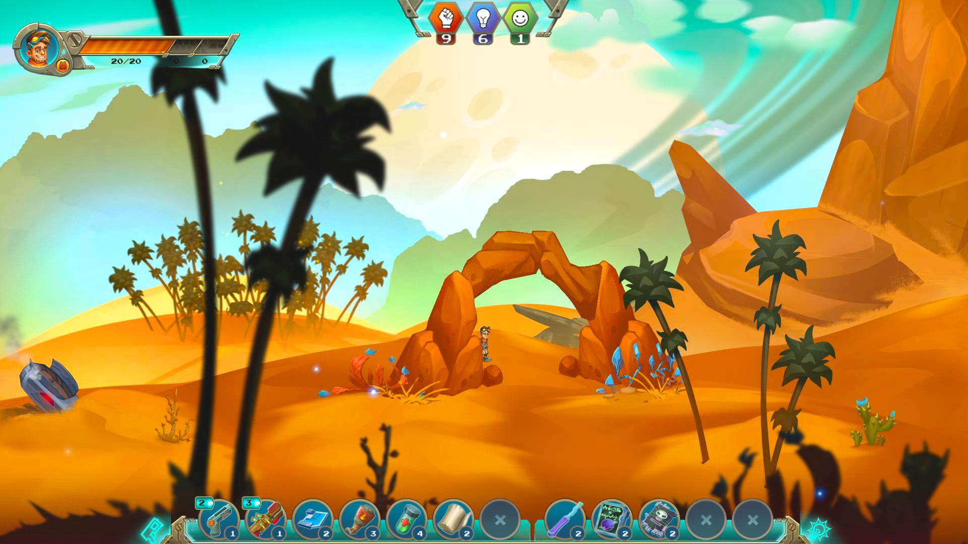 3Star Story desert