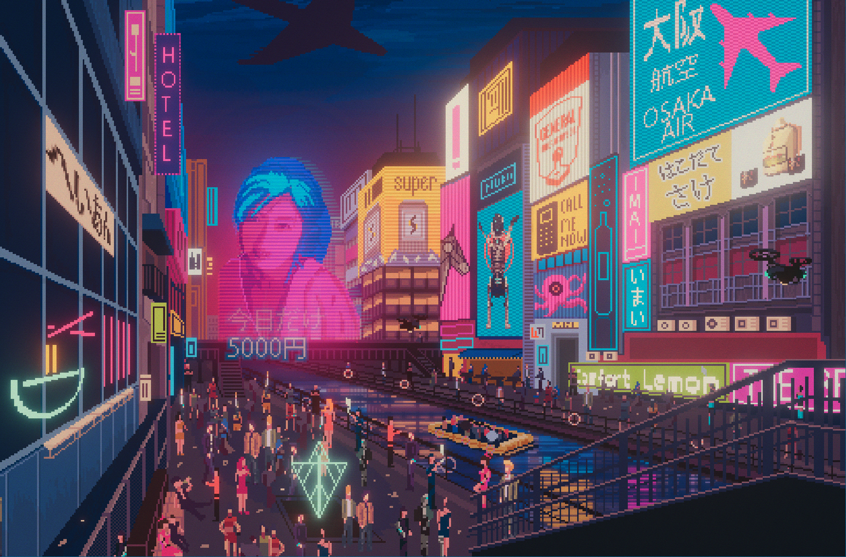 Osaka...