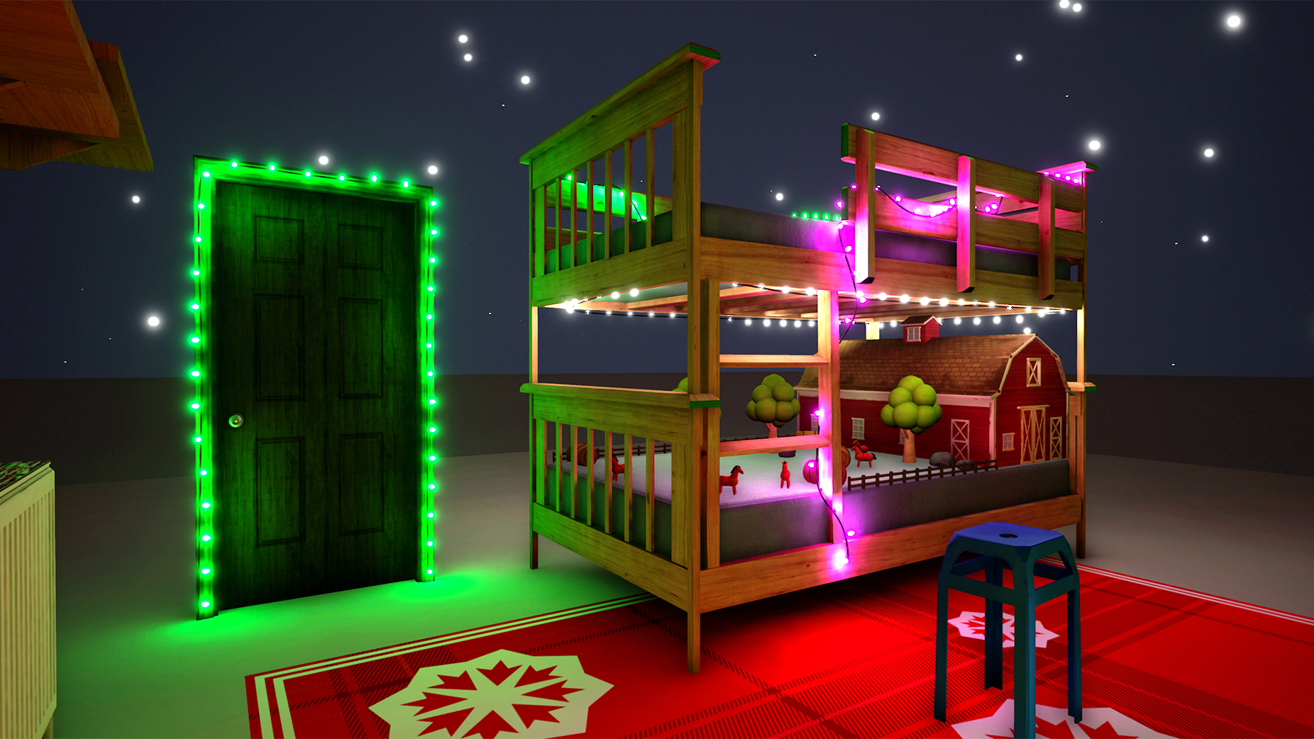 ChristmasBunkbeds screenshot