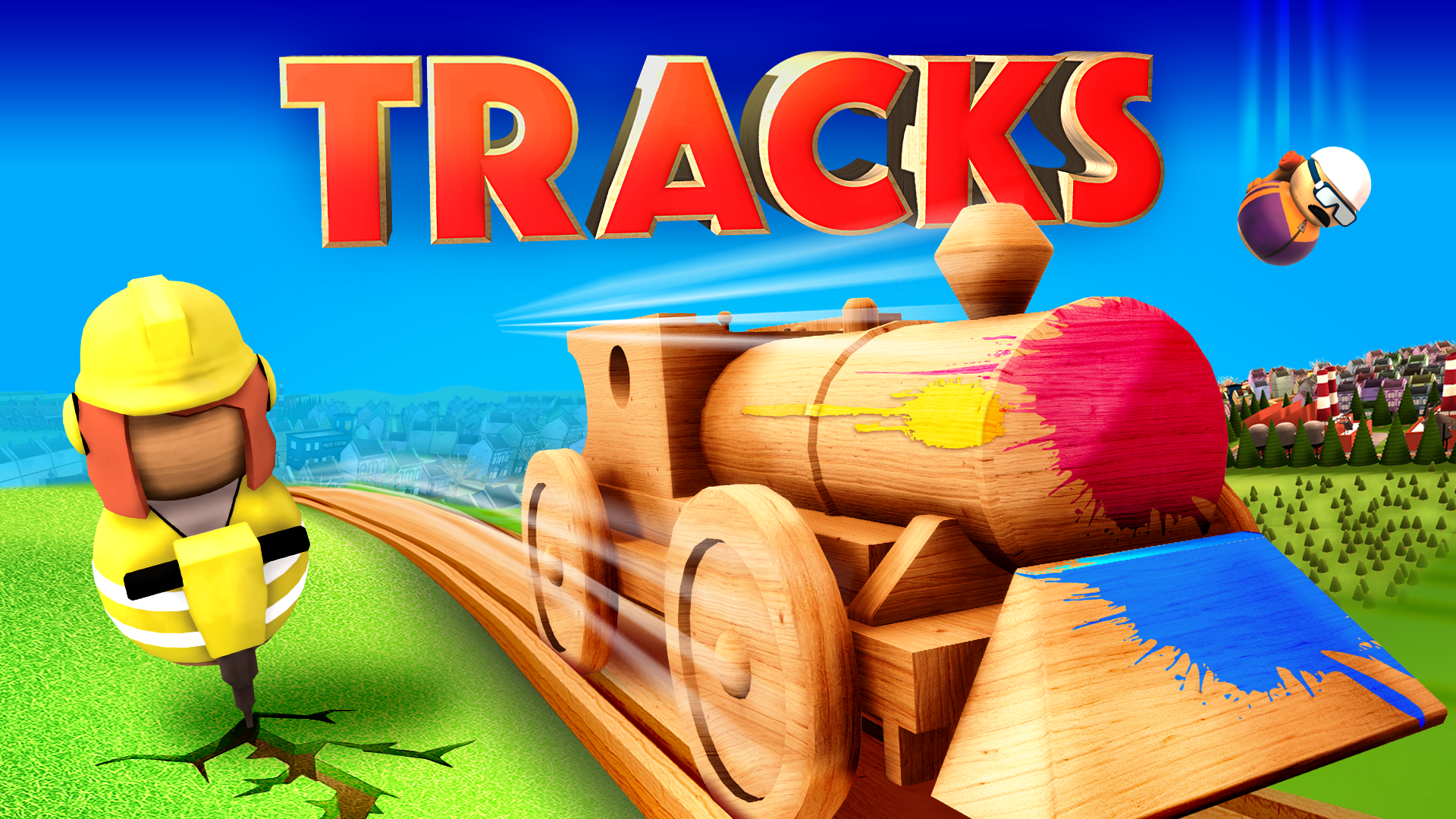Tracks Title Hero Art