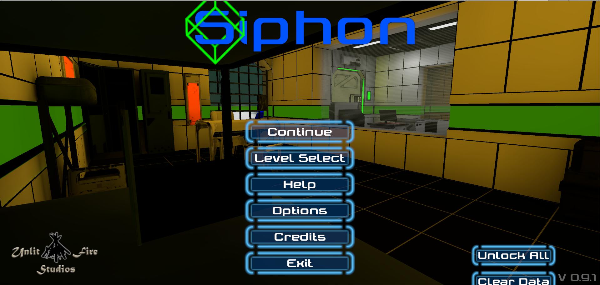 Siphon Title Screen