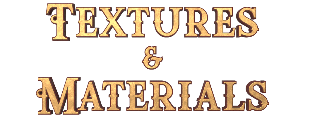 txt Textures and Materials