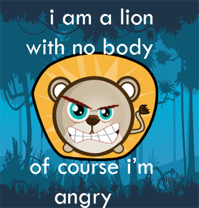 lion funny