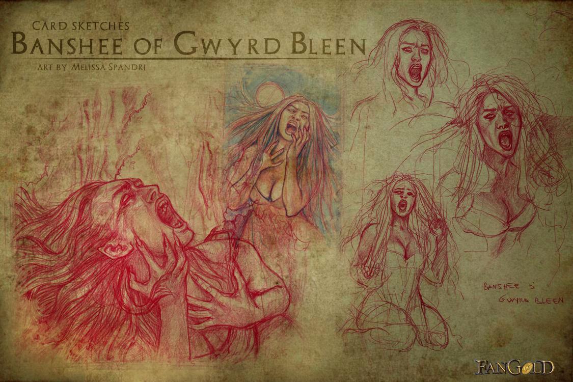 Sketch Banshee di Gwryd Bleen
