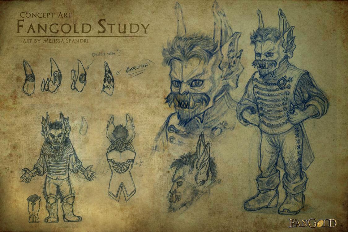 Sketch Studi Fangold