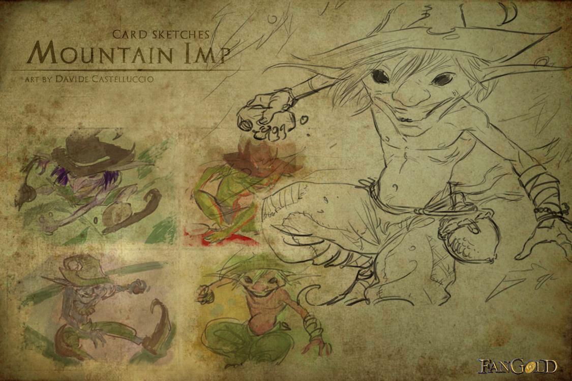 Sketch folletto di montagna