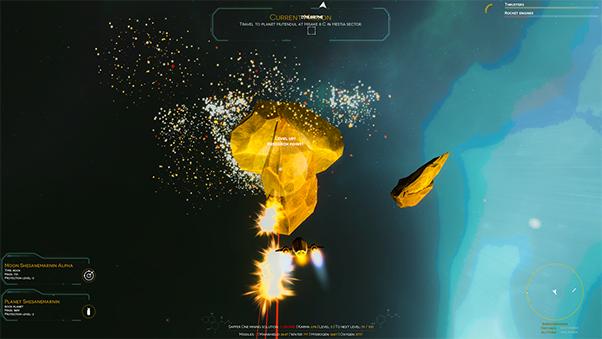 Mining asteroid