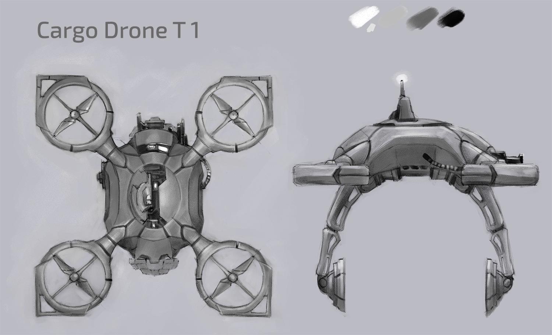 Cargo Drone T1