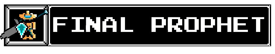 FinalProphet Kickstarter Title
