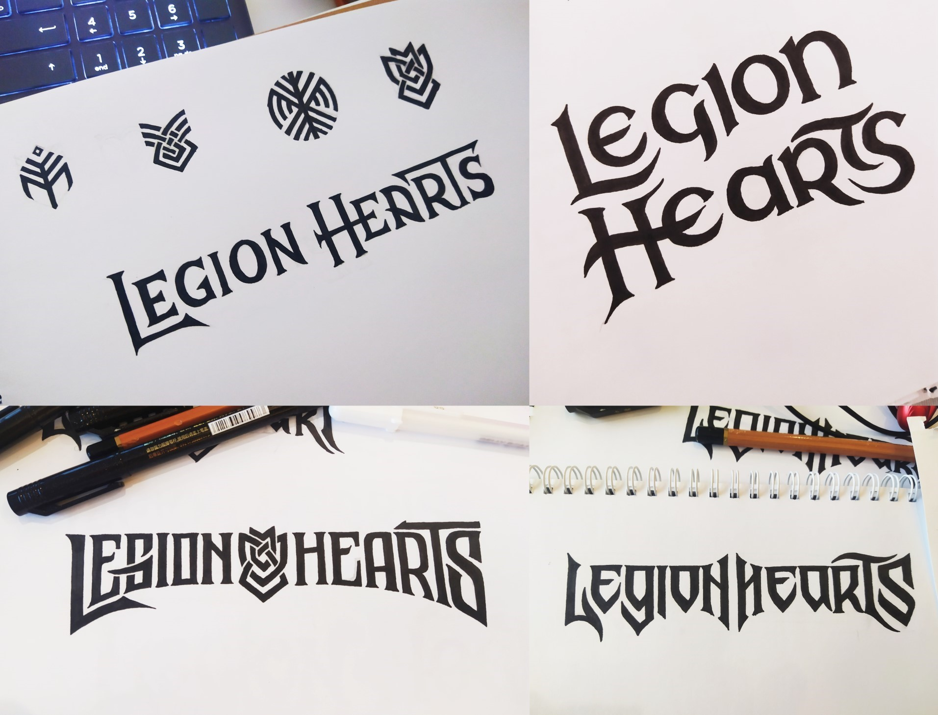 LH Logo Sketches