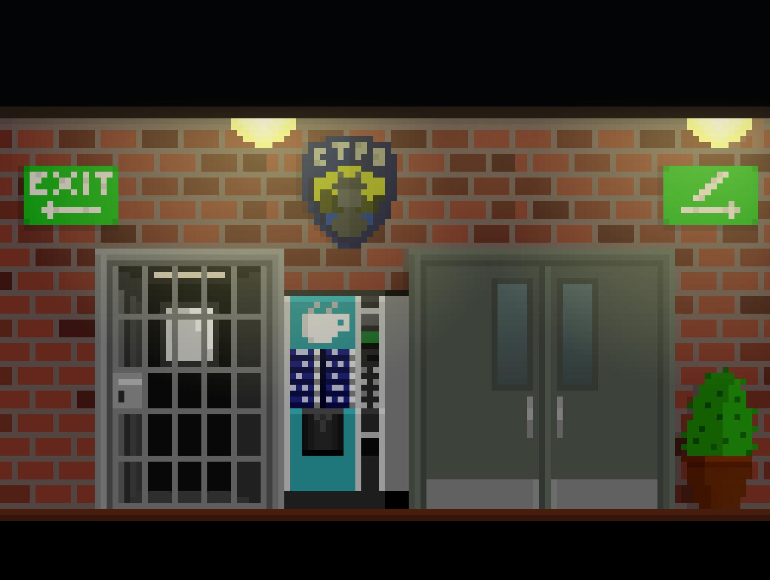 Corridor PoliceStation