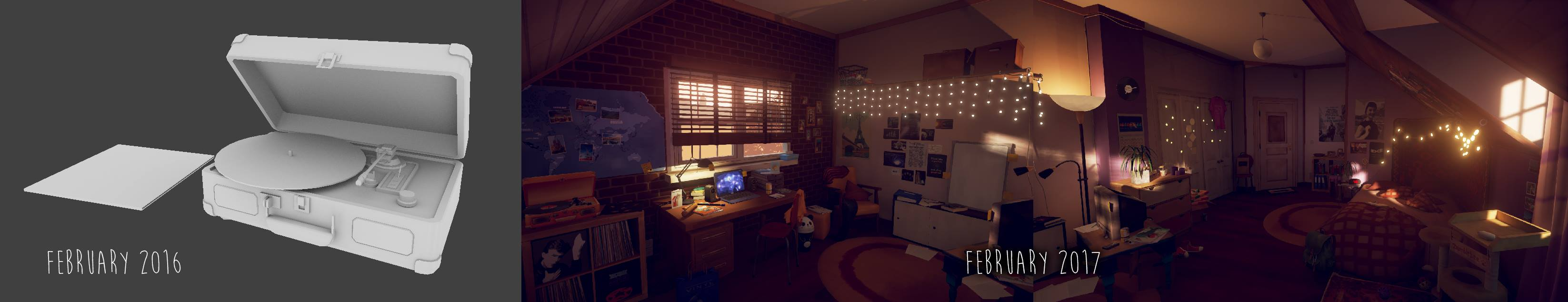 Marie's Room history
