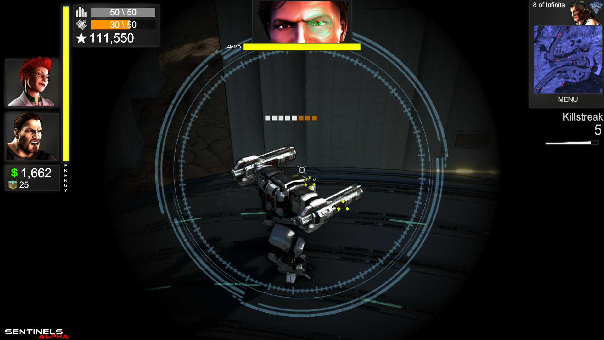 Armored mech
