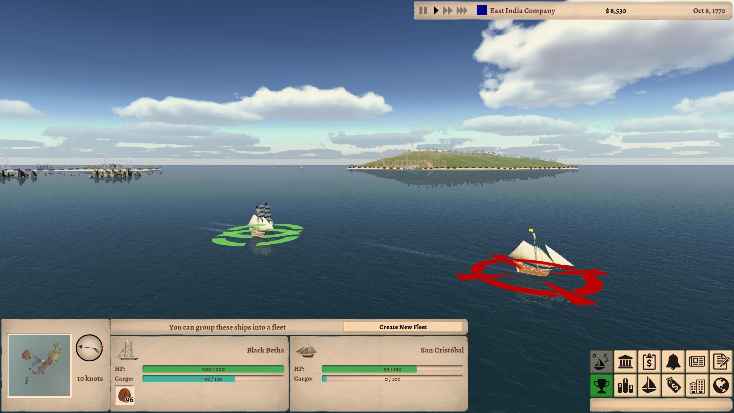 Attacking Ships