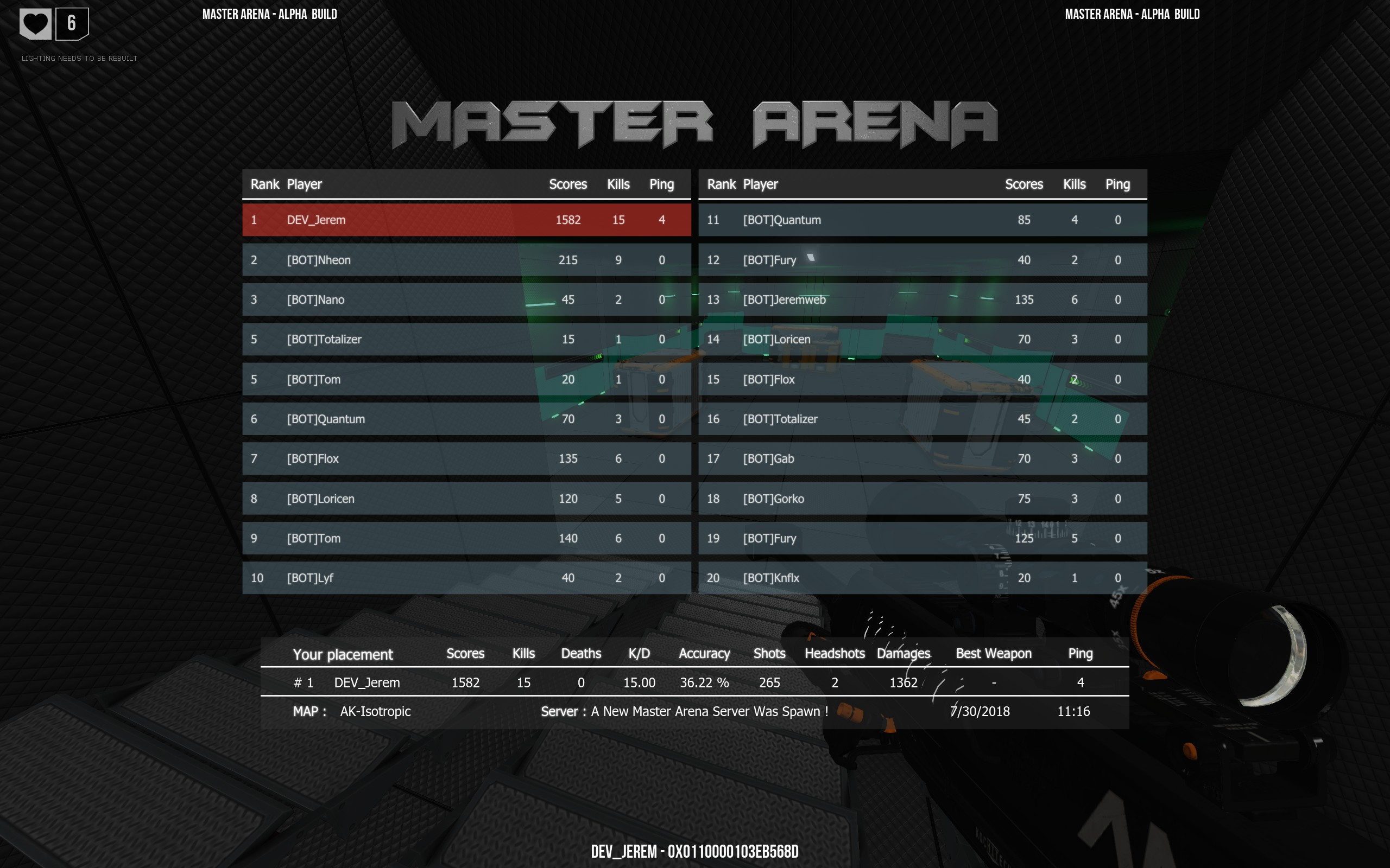 scoreboard AR