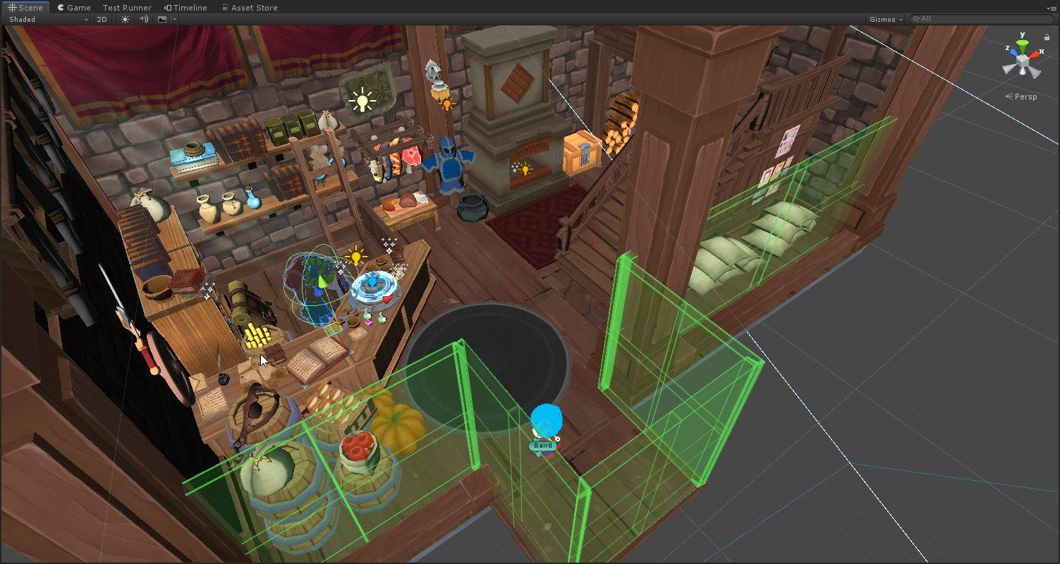 Alchemist Interior