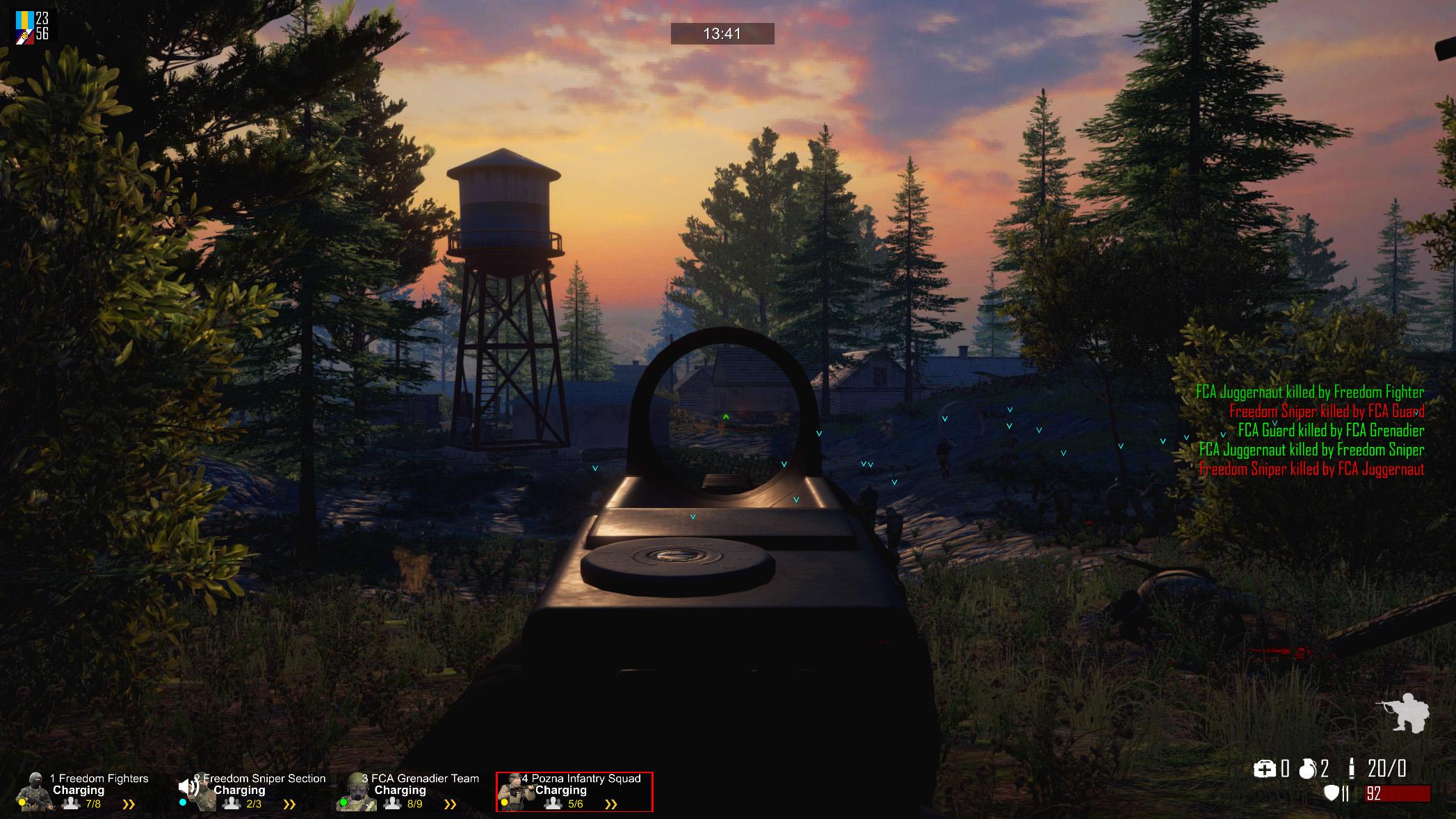 freeman guerrilla warfare ambush